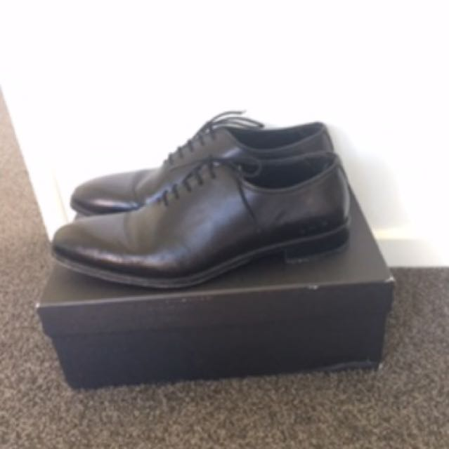 Rembrandt Oxford Black One Leather Shoe