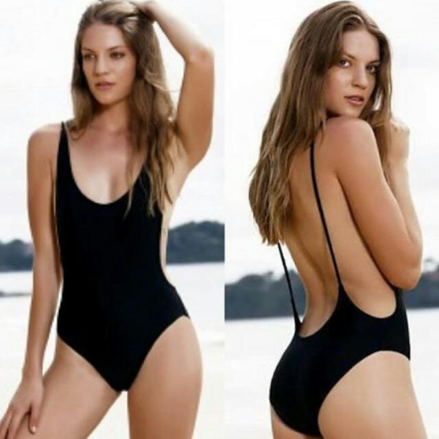 REPRICED Low Back One Piece Swimsuit