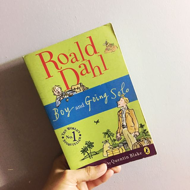 Roald Dahl Boy And Going Solo