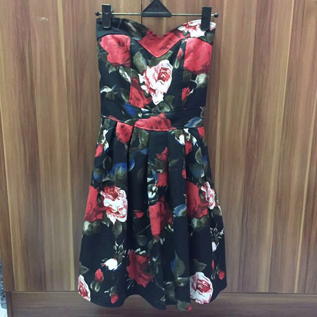 Rose Tube Dress size All Size