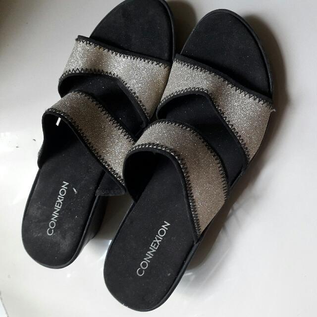Sandal Wedges Connexion Size 37