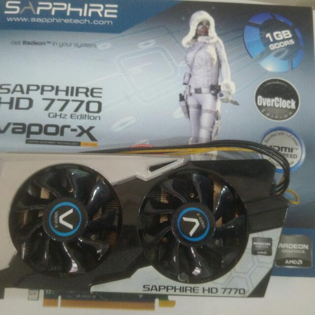 SAPPHIRE HD 7770 Vapor-X OC Edition