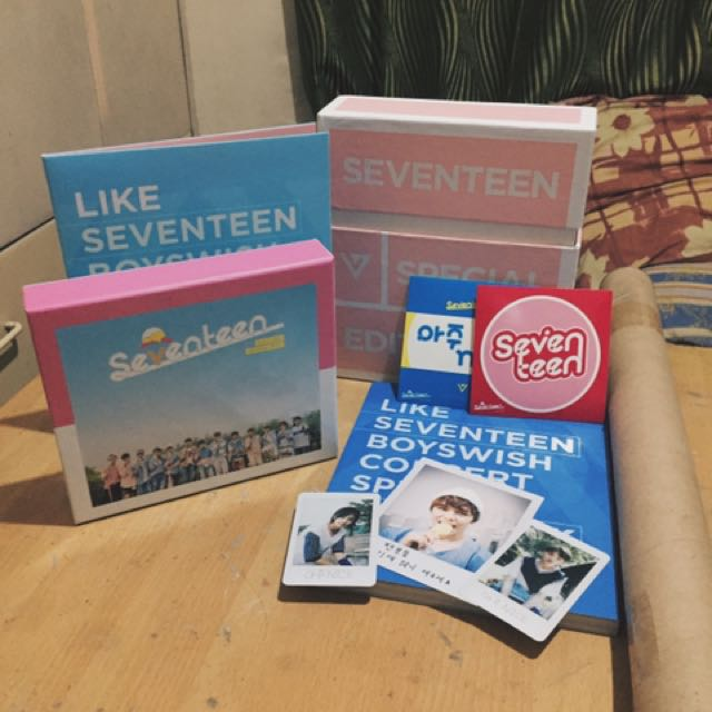SEVENTEEN LOVE AND LETTER SPECIAL EDITION
