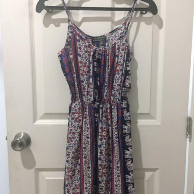 Shortcuts Apparel Bohemian Dress