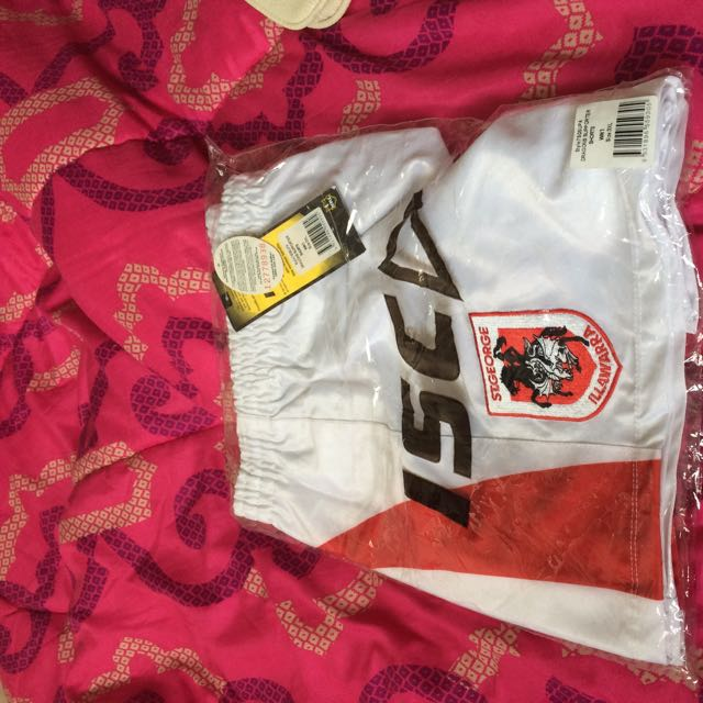 St George NRL Shorts(new) Size 3xl