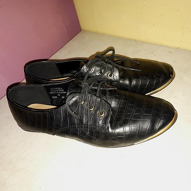 Topshop size 7 oxfords derbies brogues