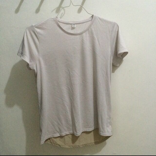 Uniqlo Two Tone Tshirt
