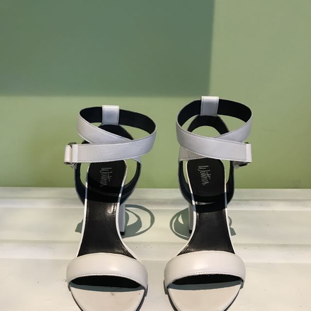 White Wittner Heel