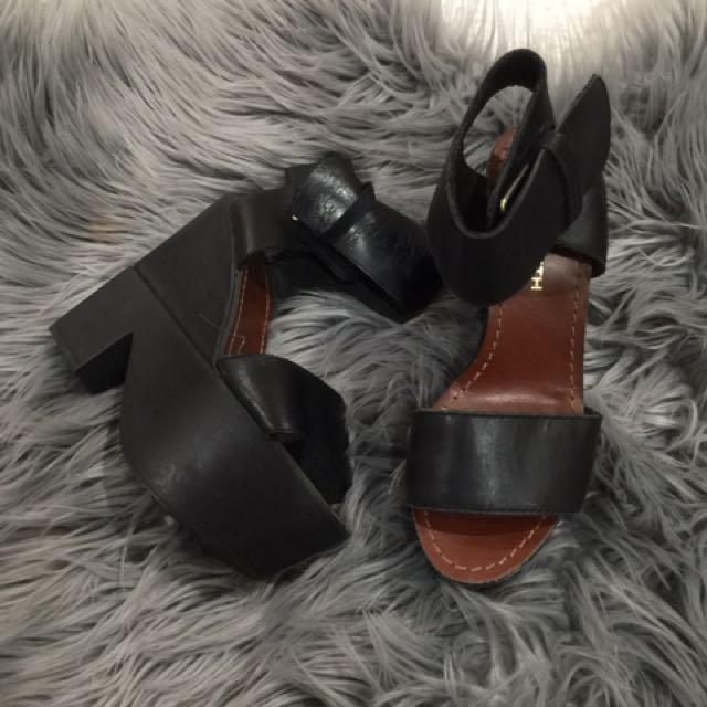 Windsor Smith Heels Black