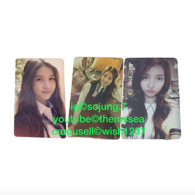 wtbwtt gfriend sowon flower bud  snowflake official photocards 1491148836 458cc46a