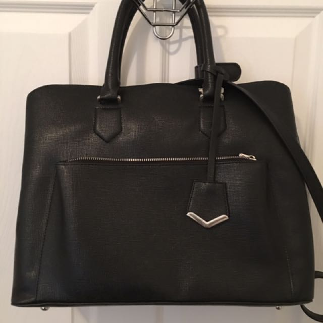 Zara Black Satchel