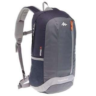 20L Day Hiking Backpack - Black/Grey