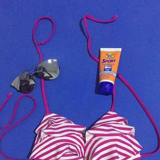 Bikini Top Stripe From Australia