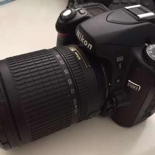 Nikon D80 + AF-S 18-135mm