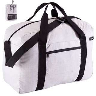 35L Folding Duffel Bag - Grey