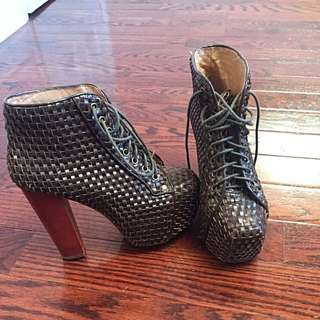 Jeffrey Campbell Leather Heels