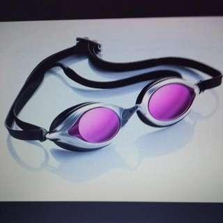 Sable WaterOptics RS 101MT Mirrored Swim Goggle