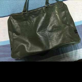 韓國設計師 Kanei Tei 軍袋系列公事包