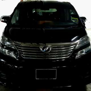 Vellfire Ready For Rent !!!