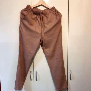 $100Pazzo粉色抽繩褲運費自付