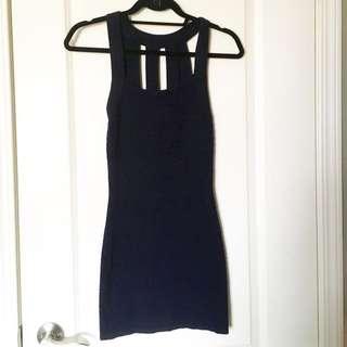 Navy Mini Dress