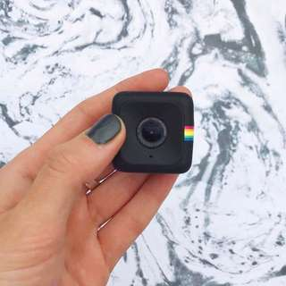 NEW Black Vlogging Polaroid Cube Camera HD 720/1080p