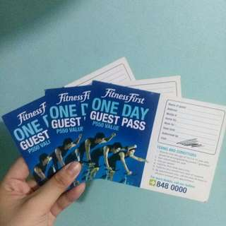 Fitness First 1-Day Guest Pass