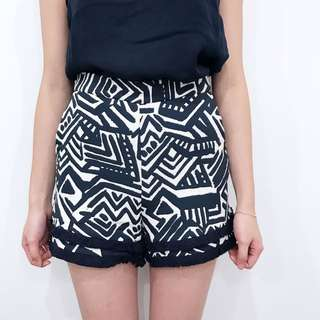 Kookai Patterned Shorts