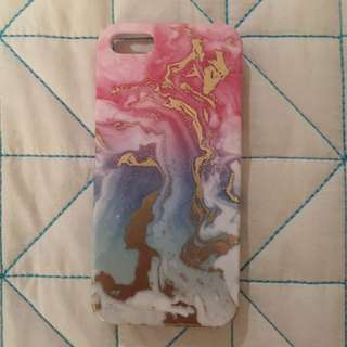 iPhone 5 Pink Marble iPhone Case