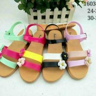 Sandal Tali Anak / Mini Melissa Bunga / Kidshoes