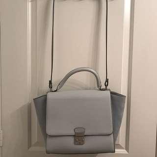 Zara light blue bag