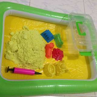 Play Sand Set (kinetic Sand?