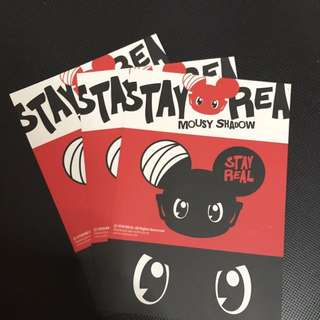 Stay Real Postcard