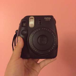 Black Instax Mini 8