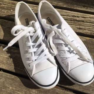 Converse Chuck Taylor All Star Dainty Leather Low Top White EUR 35.5