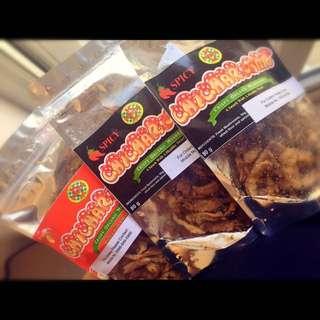 Organic Mushroom Chicharon