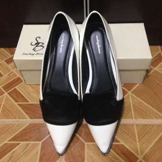 Something Borrowed Black&White Shoes