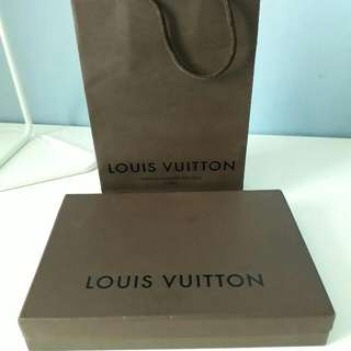 Authentic LV Box With Paperbag