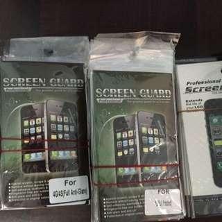 Iphone 4 / 4S Screen Protector (Matt & Clear)
