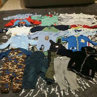 Variety Of Toddler Clothing