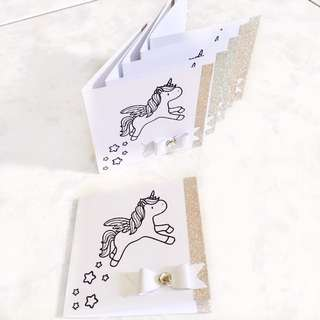 Handmade Unicorn Cards