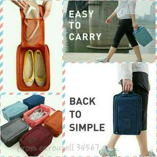 Shoe Bag Organizer Pouch [BN][Travel][Gym][Foldable][Light Weight][Instock][Free Normal Mail][Meetup][GreatQuality Guaranteed]