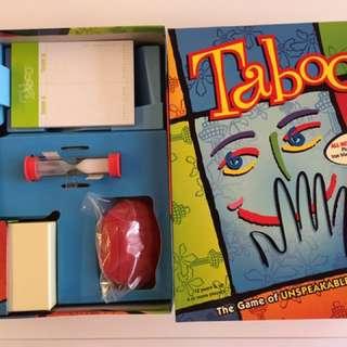 Taboo Board Game (BNIB)