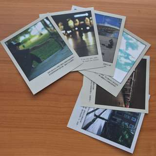 林俊傑_記得 故事影像寫真書裡的6張明信片