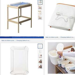 Changing Tables For Baby