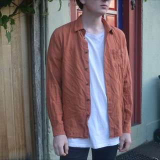 Stussy Burnt Orange Shirt