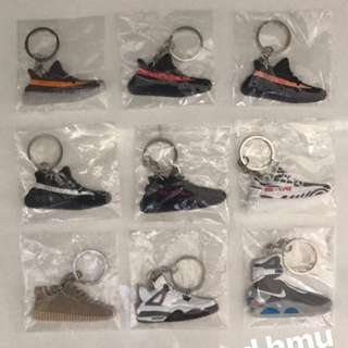 YEEZY AND MAG KEYCHAINS