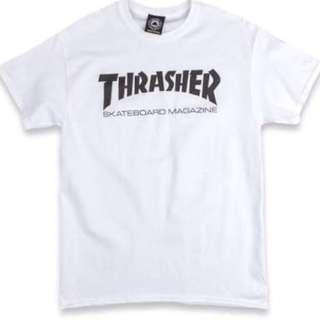 White Thrasher Tshirt