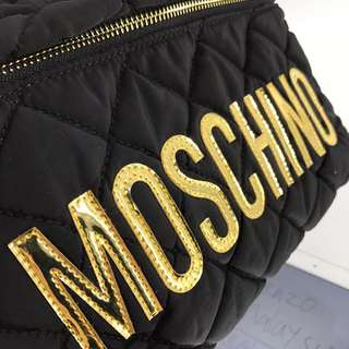 Moschino small quilted bagpack