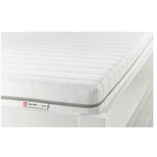 Malfors Mattress, white firm foam mattress